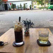 Cafe thơm ngon.