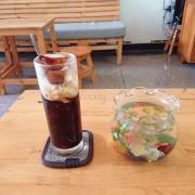 Cafe kết hợp đá cafe, thơm ngon.