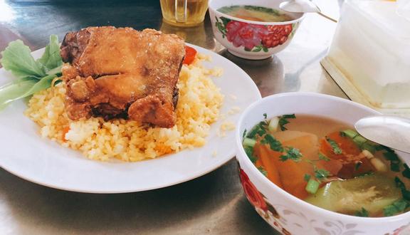 Cơm Gà Xối Mỡ Ba Ngon - Phan Xích Long