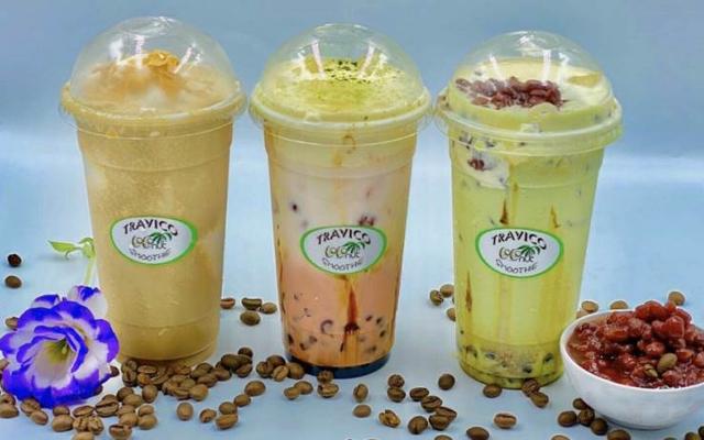 Travico - Sinh Tố Dừa Sáp & Coffee - Asiana Food Town