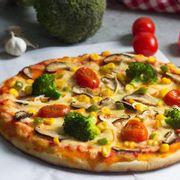 Pizza nấm rau củ