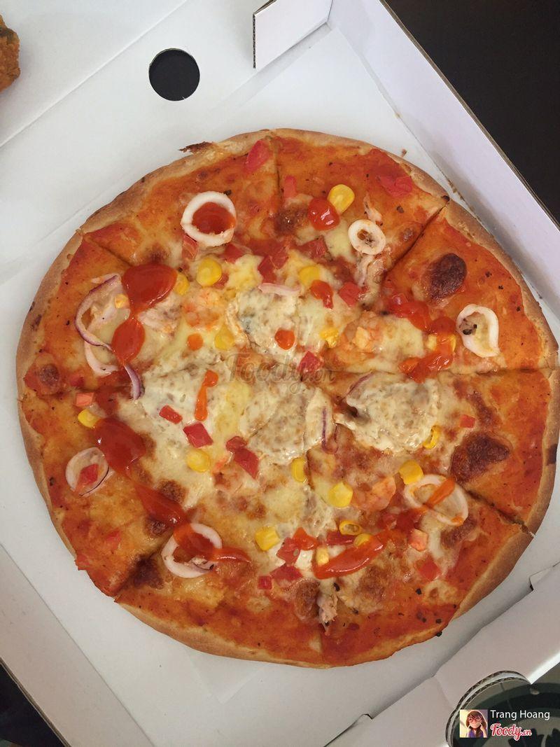 Pizza hải sản size L 89k