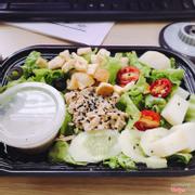 Tuna sesame salad