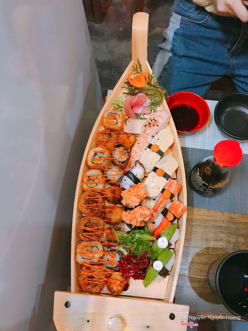 set sakura sushi
