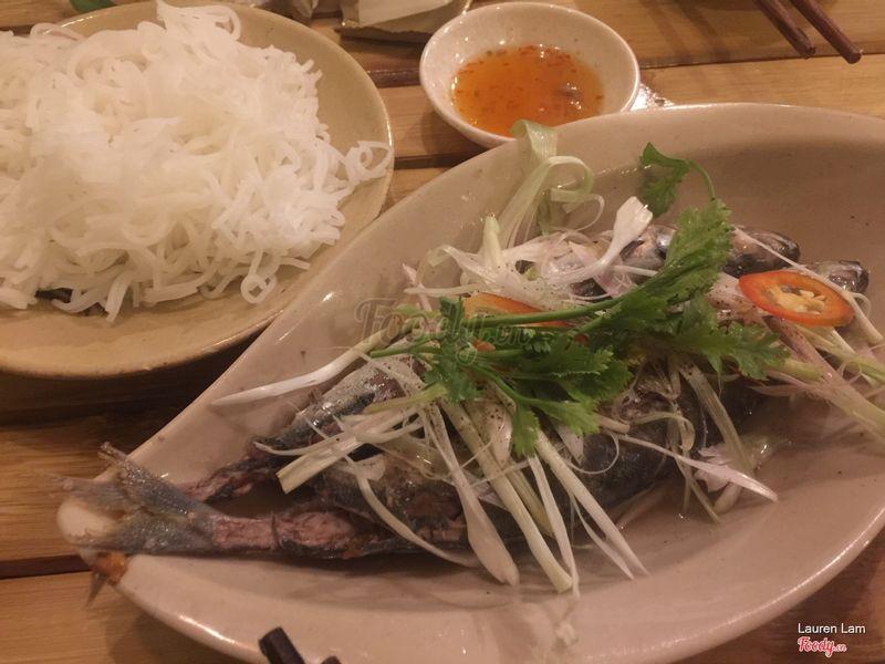 Cá nục hấp