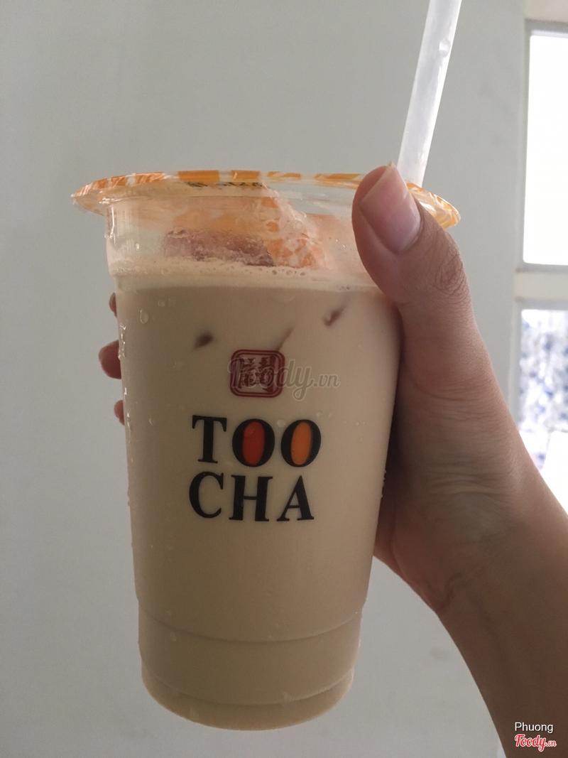 Hồng trà sữa hạt dẻ