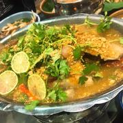 Cá hấp sốt Thái
