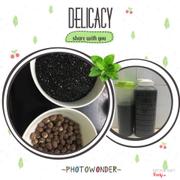 Sữa hạt sen lức, mè đen - lotus seed, black sesame milk