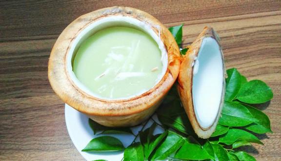 Ăn Vặt Online Đà Nẵng - Râu Câu Trái Dừa