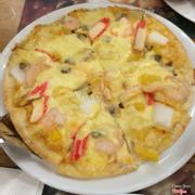 Pizza hải sản size M đế mỏng