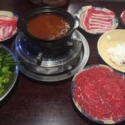 Thịt con bò nhúng súp