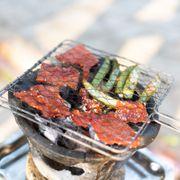 Thịt mễn nướng - Mễn là 1 con tương tự như con nai, mình tìm trên Wiki thì họ bảo là hoẵng