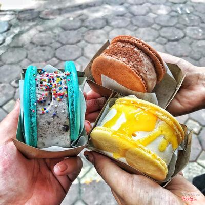 bánh nhân kem