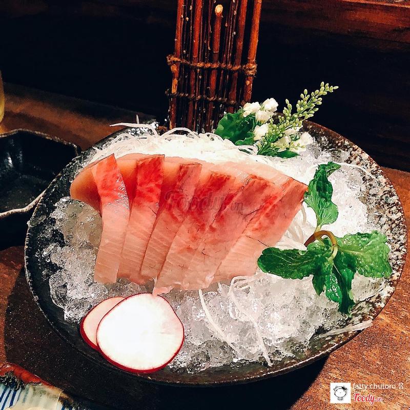 Cá cam sashimi