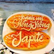 Bánh mì nướng sốt Hồng Kông