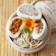 Bánh Bao Nhân Thịt: Cà Ri Gà, Thịt Heo Xông Khói, Bò Kho