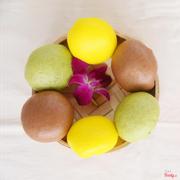 Bánh Bao Nhân Ngọt: Kim Sa, Sô Cô La, Matcha