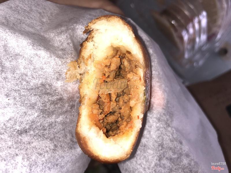 Bánh bao chiên thịt heo kimchi