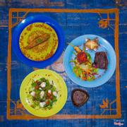 Lấy cảm hứng từ khu vườn Trung Đông Majorelle của nhà thiết kế lừng danh Yves Saint Laurent cùng ẩm thực đậm chất Ma Rốc.