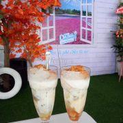 Chè Hột Gà Chưng Sữa
