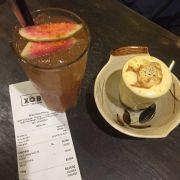 cafe trứng và ổi muối ớt
