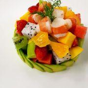 Salad trái cây tôm
