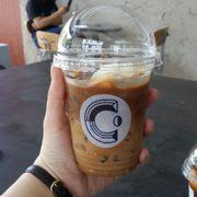 Iced Milk Coffee
