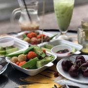 Cóc muối - trà sữa - cá viên - tôm viên - bò viên (đậu bắp dc free)