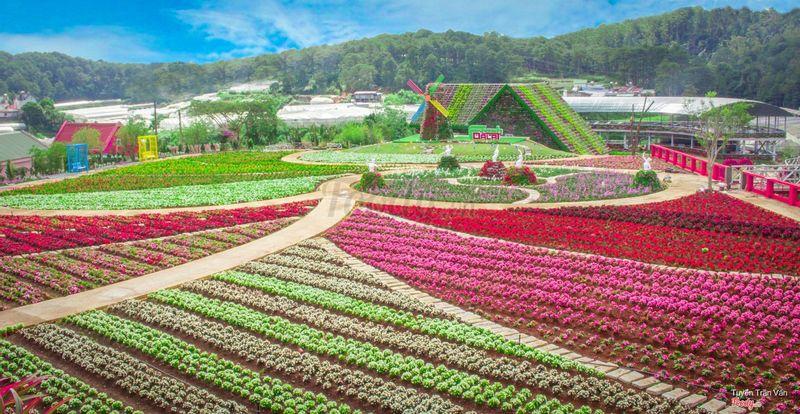 Fresh Garden - Khu du lịch Fresh DaLat ở Tp. Đà Lạt, Lâm Đồng ...