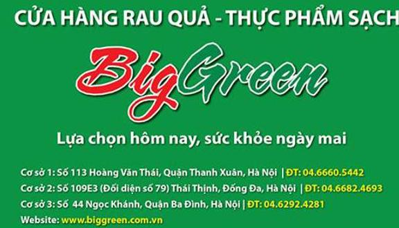 Thực Phẩm Sạch Biggreen - KĐT Tây Linh Đàm