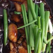 Thịt ếch tươi và nấu với công thức kungpao đặc biệt