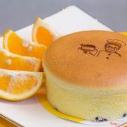 Bánh cheesecake vị cam