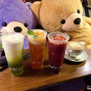 Cafe cùng gấu