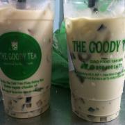 Mình mua trà sữa the goody với trà sữa matcha