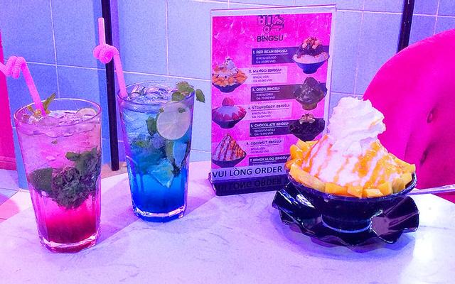 Pink BING - Drink & Dessert