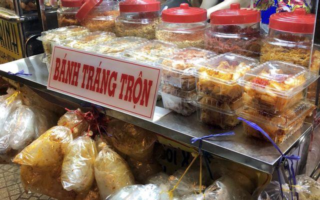 Bánh Tráng Trộn Lá Mía, Mực Rim & Gỏi Khô Bò