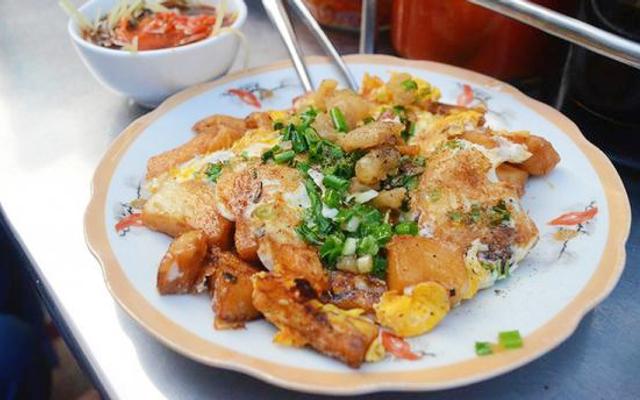 Bột Chiên Khoai Môn & Mì Xào Bò