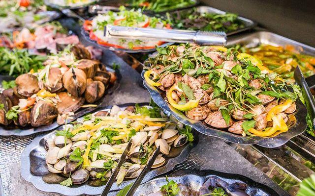 Happy BBQ - Buffet Hải Sản