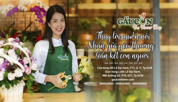 Gau Con The Flower Shop - Hoa Tươi