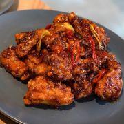 Gà sốt cay Mala hot chicken