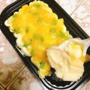 Cốt bánh khá mịn và cheese thì không bị ngấy