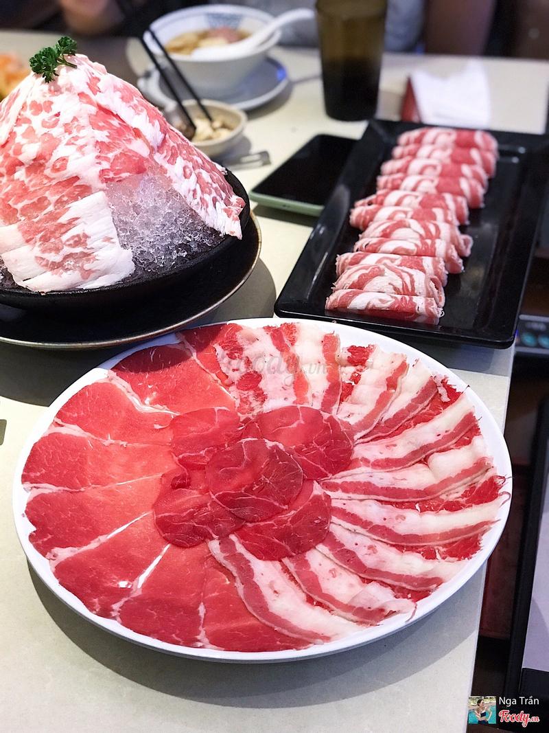 Đĩa thịt tổng hợp