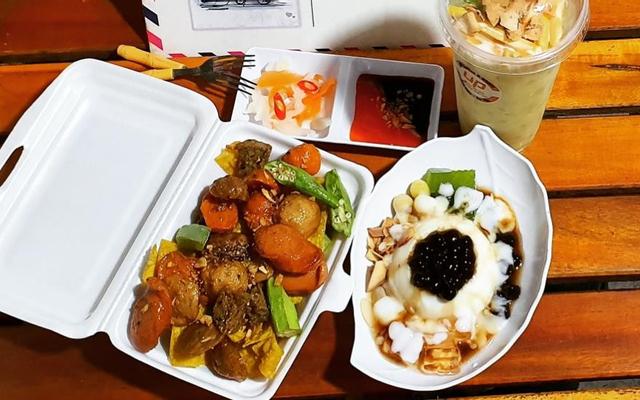 UP - Tàu Hủ Trân Châu & Mía Sữa Dừa