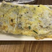 Bánh khoai môn chiên trứng - bột dày không ngon
