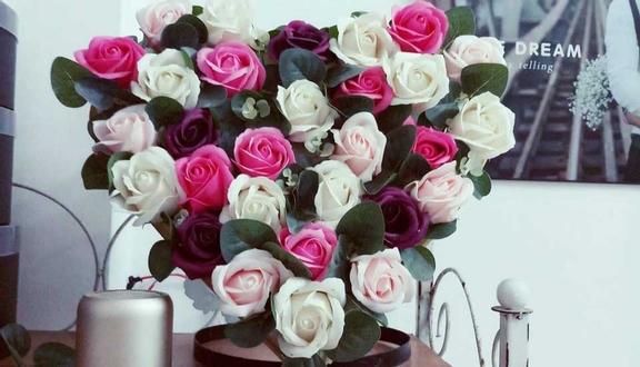 Pink Florist - Hoa Sáp Thơm