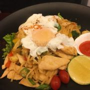 Mie goreng of heart infliction with eat at Bali