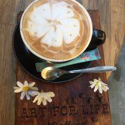 Coffee ngon. Cafe italia