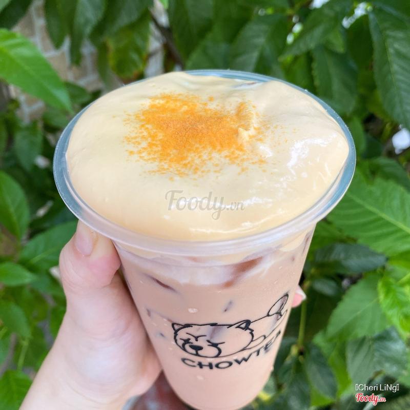 Trà sữa kem phô mai hồng Pinkchee