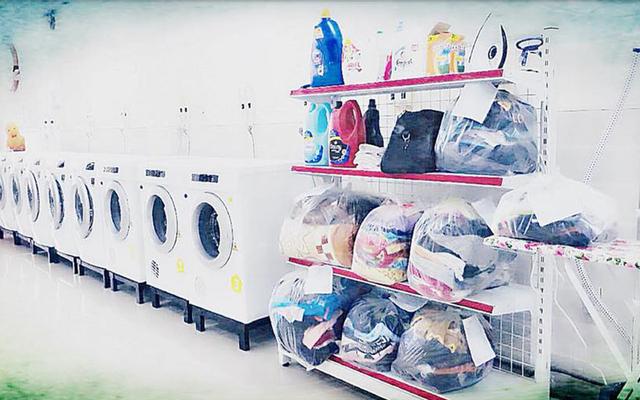 Giặt Sấy Tự Động Happy Washing