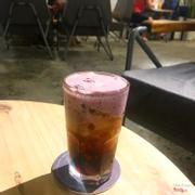 Cafe ngâm lạnh vị sữa việt quất